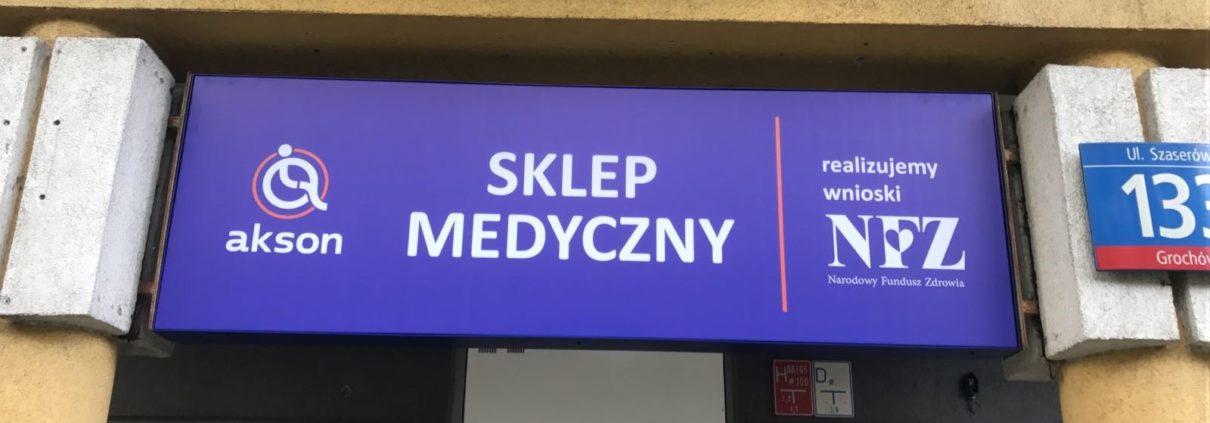 Akson sklep medyczny Warszawa
